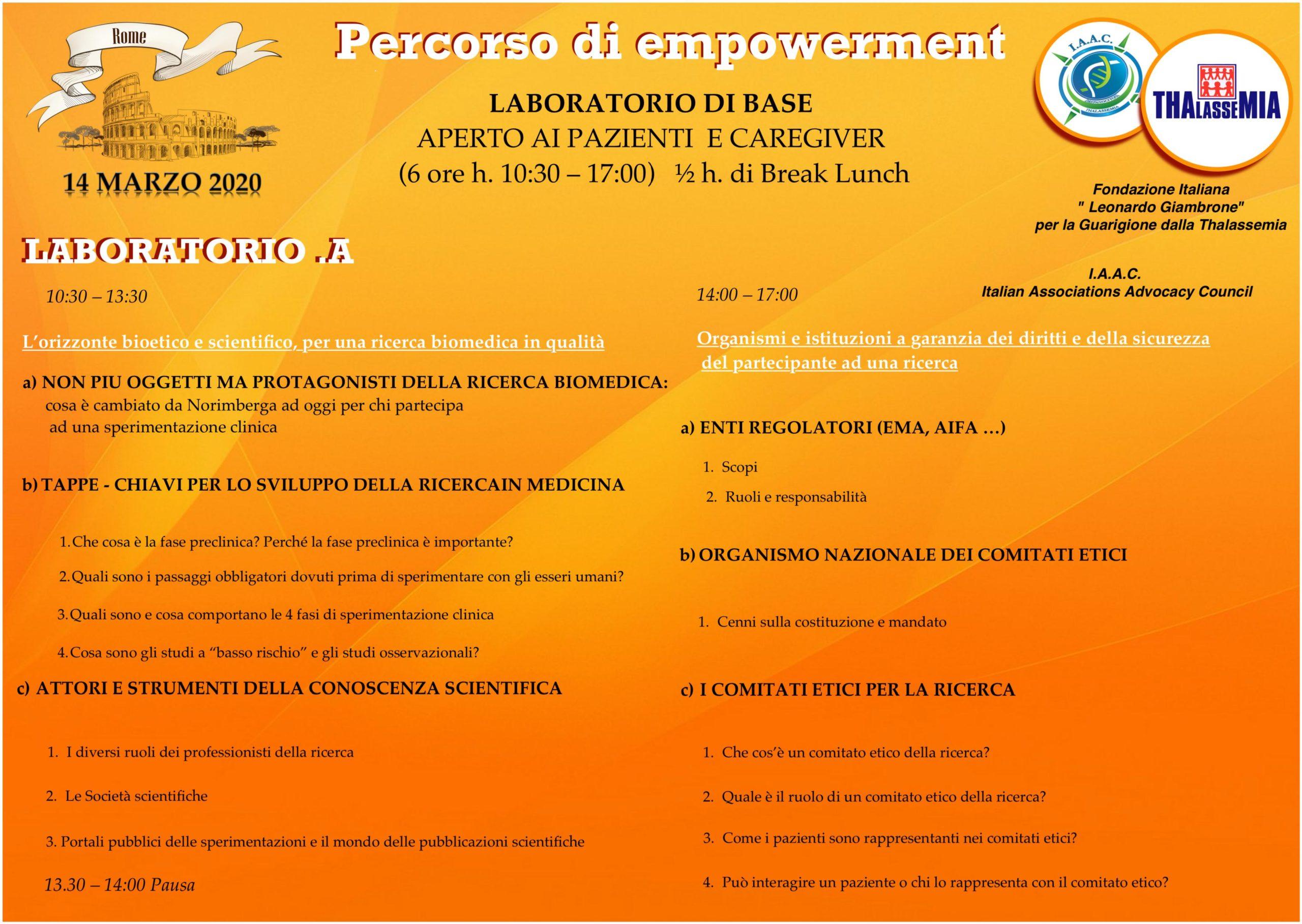 laboratorio empowerment