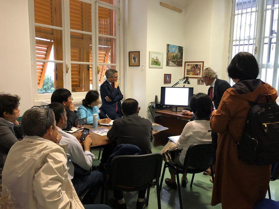 delegazione cinese
